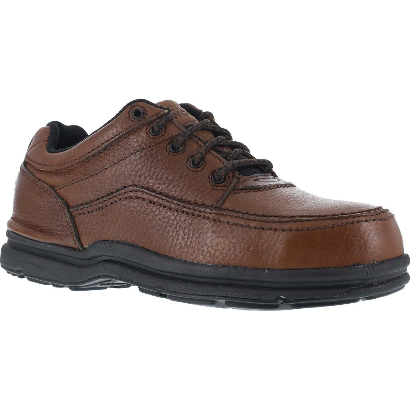 Rockport Shoes: Men's Steel Toe ESD Work Shoes RK6762-8EW