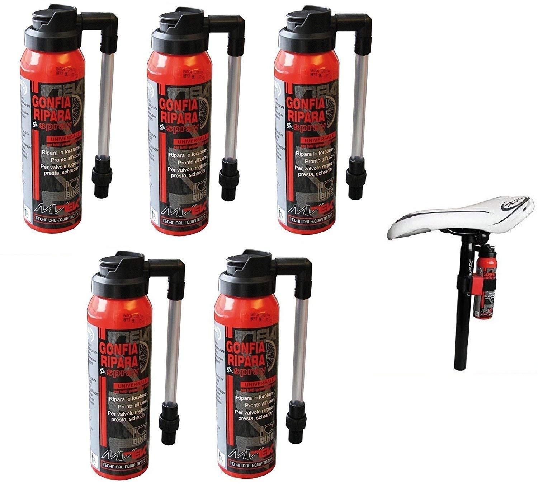 5 X Fast CO2 (Inflador y Reparaciones) para Bici Bicicleta ...