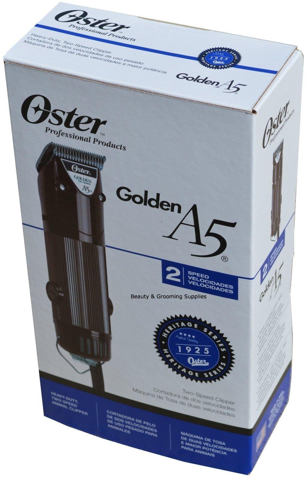 Oster 220V Animal Clipper Golden A5