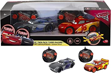 Cars 3 Lightning McQueen Vs Jackson Storm - 2 Remote control cars: Amazon.es: Juguetes y juegos