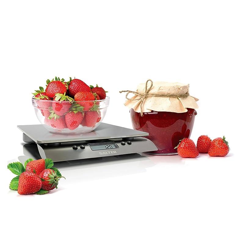 Salter- Balance de cuisine électronique- 10 kg- INOX- SA 3013 ...