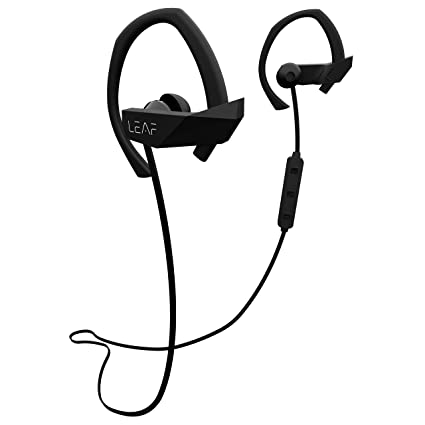 d0cbe2f441f Leaf Sport Wireless Bluetooth Earphone (Black): Buy Leaf Sport Wireless  Bluetooth Earphone (Black) Online at Low Price in India - Amazon.in