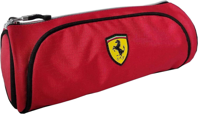 Estuche Tombolino Scuderia Ferrari Kids vacío oficial 62553: Amazon.es: Oficina y papelería