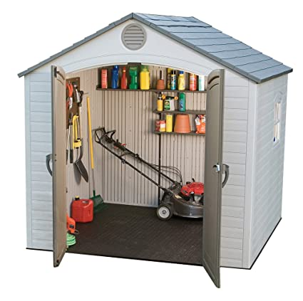 Lifetime 6406 8 ft x 5 ft Outdoor Storage Shed  sc 1 st  Amazon.com & Amazon.com : Lifetime 6406 8 ft x 5 ft Outdoor Storage Shed : Garden ...