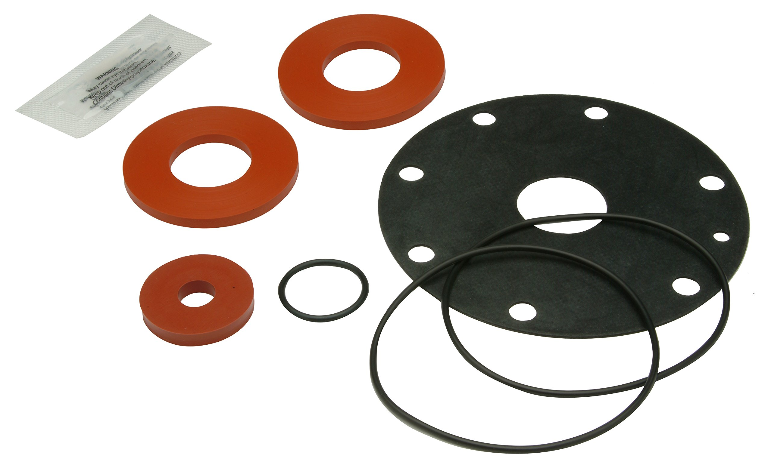 Zurn RK114-975XLR Wilkins Complete Rubber Repair Kit for Models 975XL/975XL2, 1.25'' to 2'' Sizes and for Backflow Preventer by Zurn (Image #1)