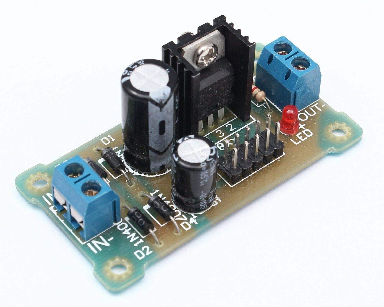 5PCS LM7809 Step Down 12V-35V to 9V Power Supply Module DIY Kit Good
