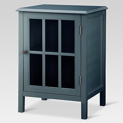 Amazon.com: Windham One Door Accent Cabinet   Threshold: Kitchen U0026 Dining