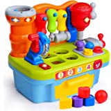 ORWINE Musical Learning Workbench Toddler Toys for Boys Girls Kid Baby Early Education Toys for 1 2 3 4 Years Old…