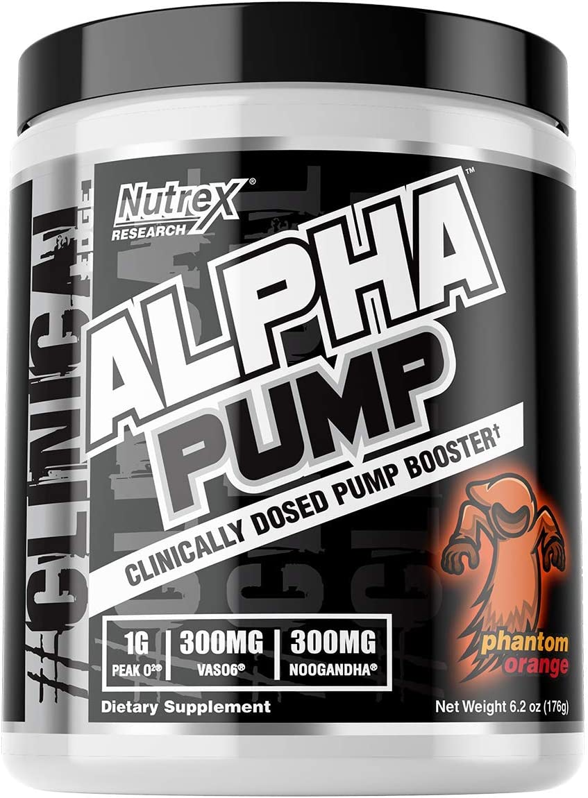 Nutrex Research Alpha Pump Clinically Dosed Pump Booster Peak02