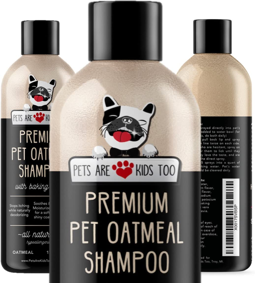 Pet Oatmeal Anti-Itch Shampoo & Conditioner