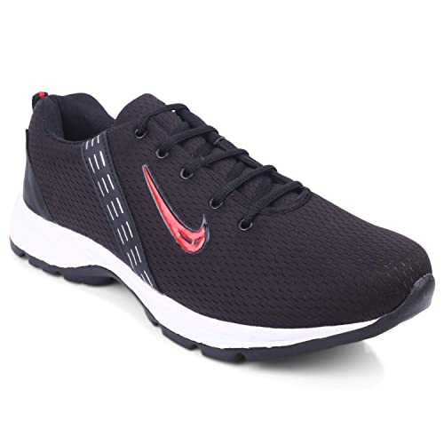 c77c13e940d Extavo Men Adr Sports-10 Black Red Big Size Running Shoes: Buy Online at  Low Prices in India - Amazon.in
