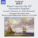 Piano Concertos 3 (Farewell to England)