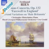 Ries: Piano Concertos Vol.3