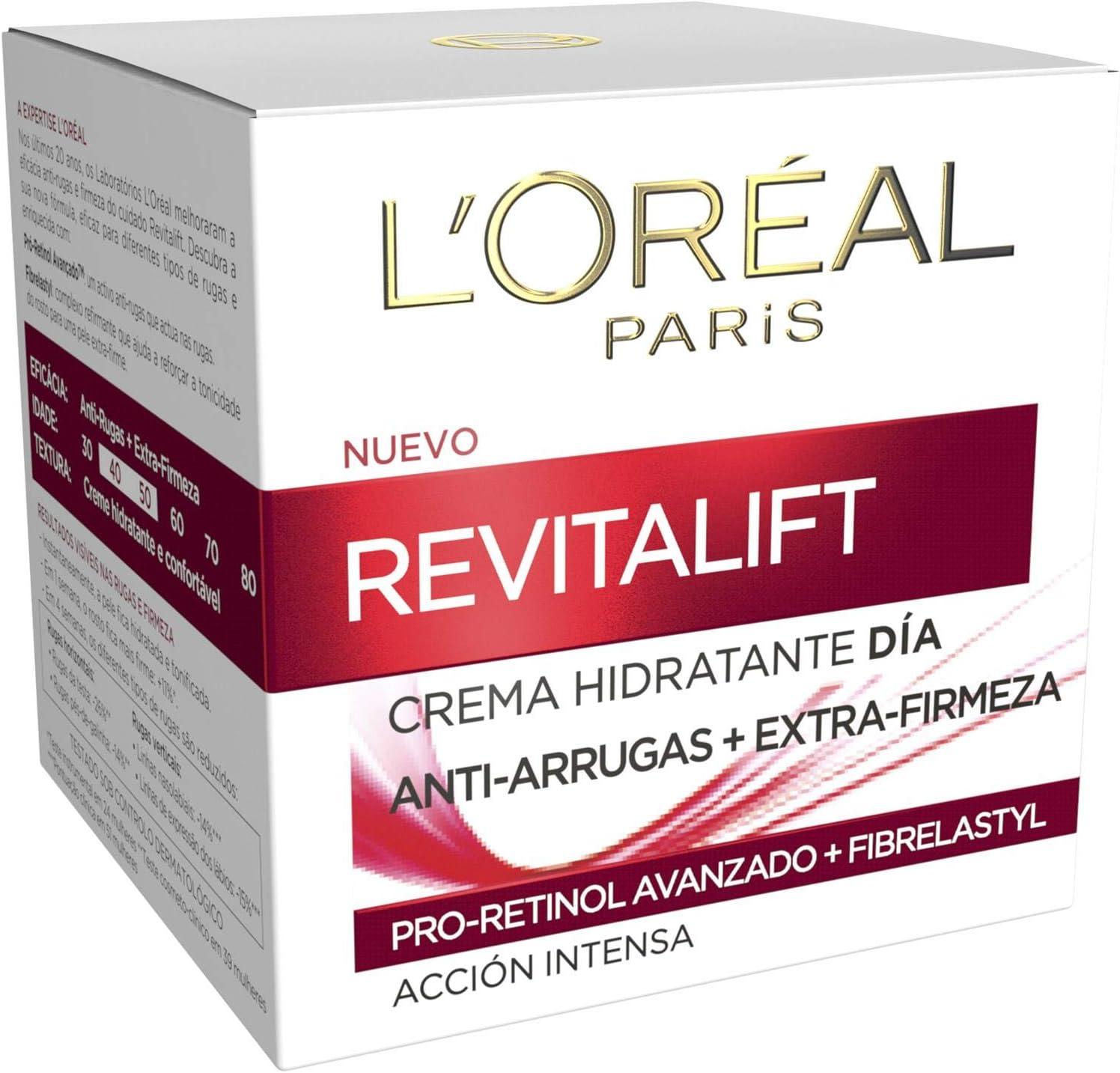 Crema de día L'Oreal Paris Revitalift por sólo 4,95€