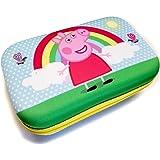 Paw Patrol Pencil Case - Hard Shell Pencil/Storage Box (Peppa Pig)