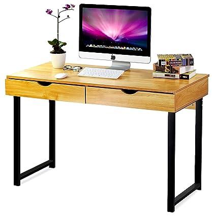 Fine Amazon Com Minimal Computer Desk Writing Table Finished Download Free Architecture Designs Salvmadebymaigaardcom