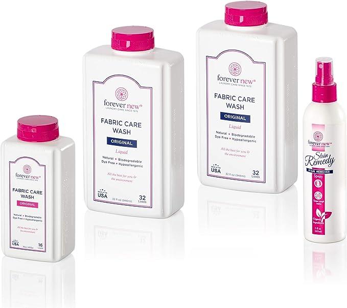 Detergente líquido y granular para lavandería Forever New con gel ...