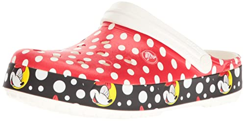 211f05708ee7 crocs Women s Crocband Minnie Mouse Clog  Buy Online at Low Prices ...