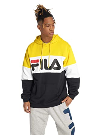 Fila Herren Hoodies Urban Line Night Blocked schwarz L: Amazon.de ...