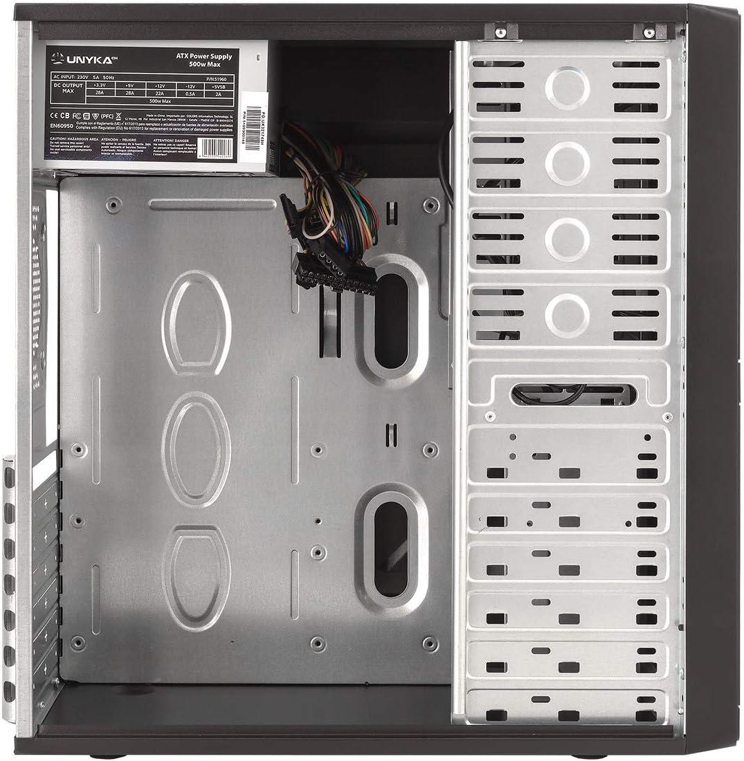 UK 7852 U3 Caja ATX (500 W, Fuente incluida): Amazon.es: Informática