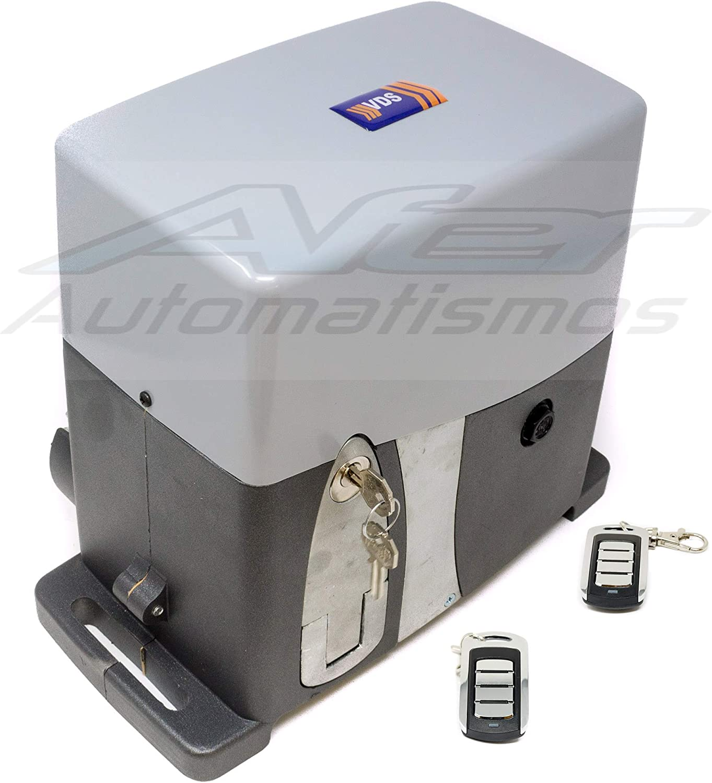 Kit motor para automatizar tu puerta de garaje o cancela corredera. VDS FUTURE AG 1600 Kg + 2 mandos Rolling code 4 canales 433 mhz