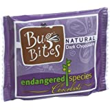 Endangered Species Natural Chocolate Bug Bites - Dark Chocolate - 72 Percent Cocoa - .35 oz - Case of 64