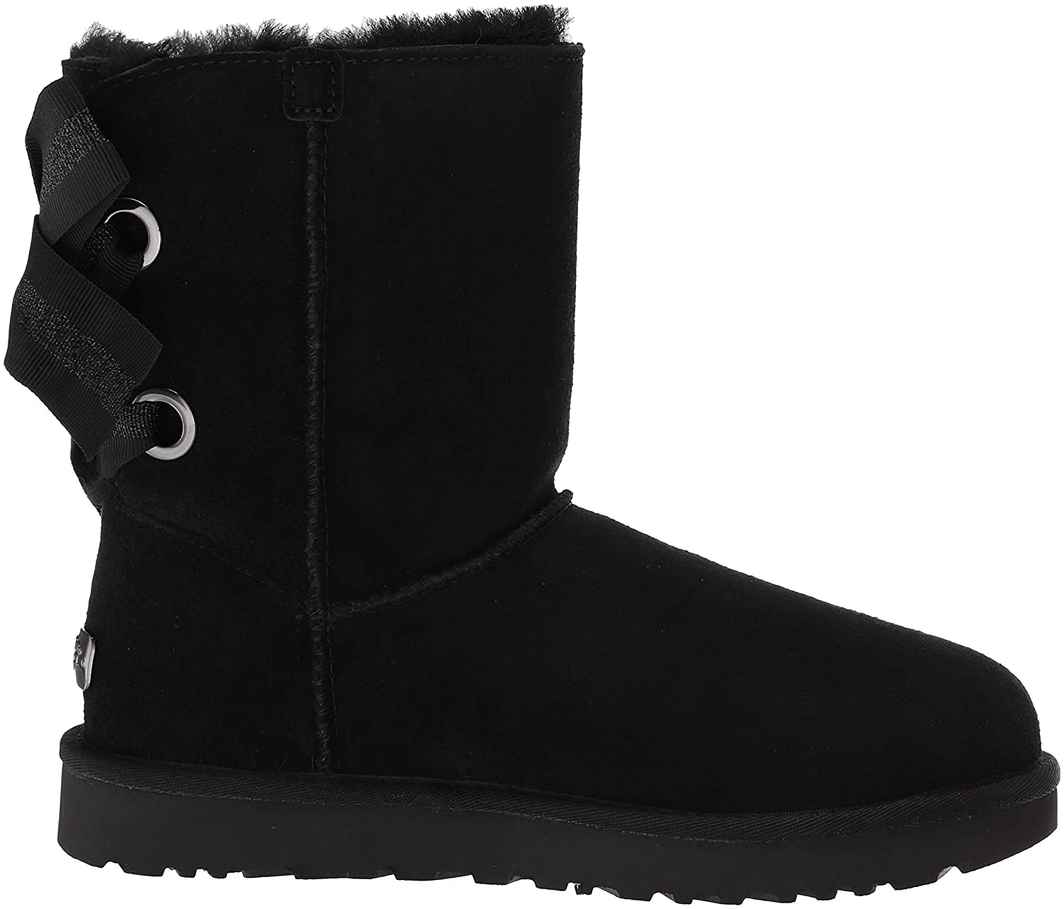 a86fcc459 Amazon.com | UGG Women's W Customizable Bailey Bow Short Fashion Boot |  Ankle & Bootie