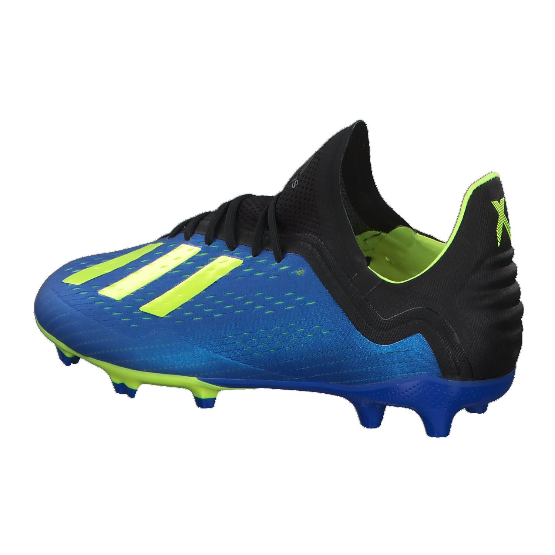 23181f2f376 Amazon.com  adidas X 18.1 Firm Ground Junior Football Boots - Blue-13.5 J   Sports   Outdoors