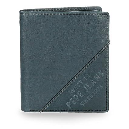Pepe Jeans 7155163 Heat Monedero, 10 cm, 0.09 litros, Azul
