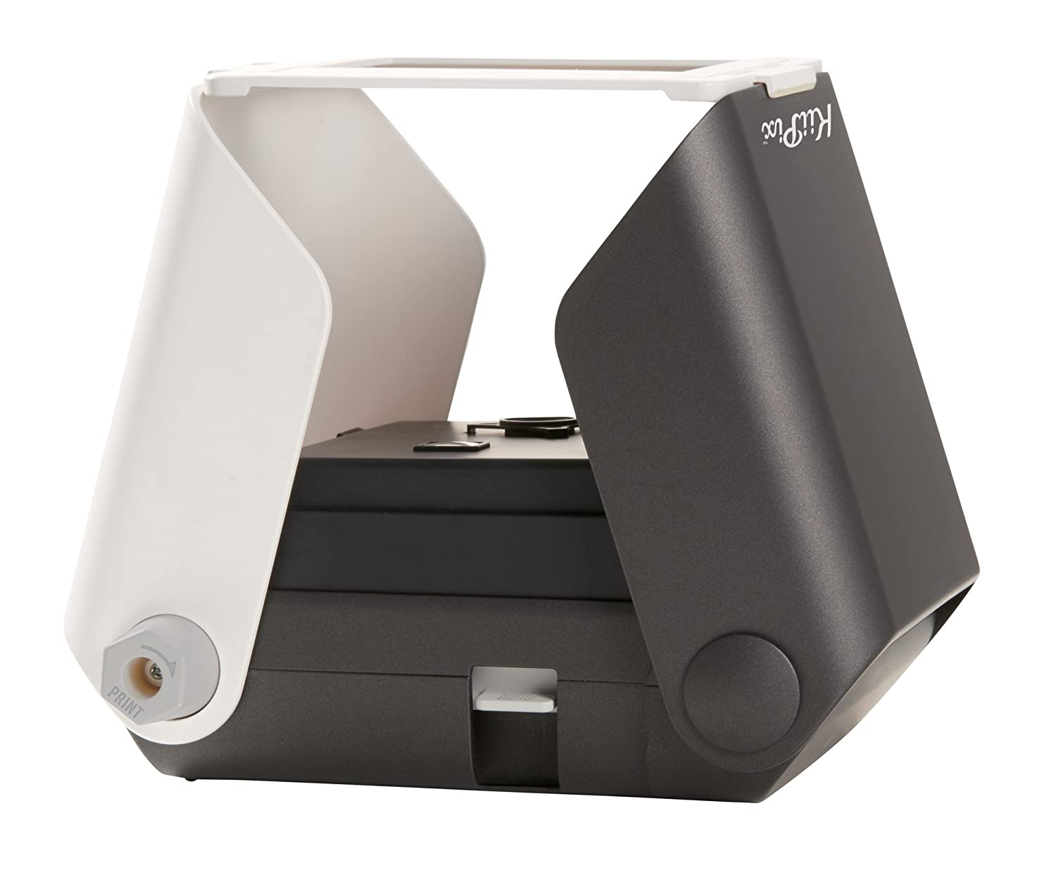 KiiPix Portable Photo Printer, Black