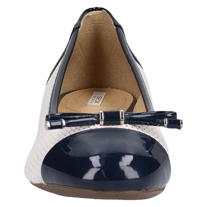 Geox Schuhe D724GG 0BCHH c0899 36 Weiß: : Schuhe