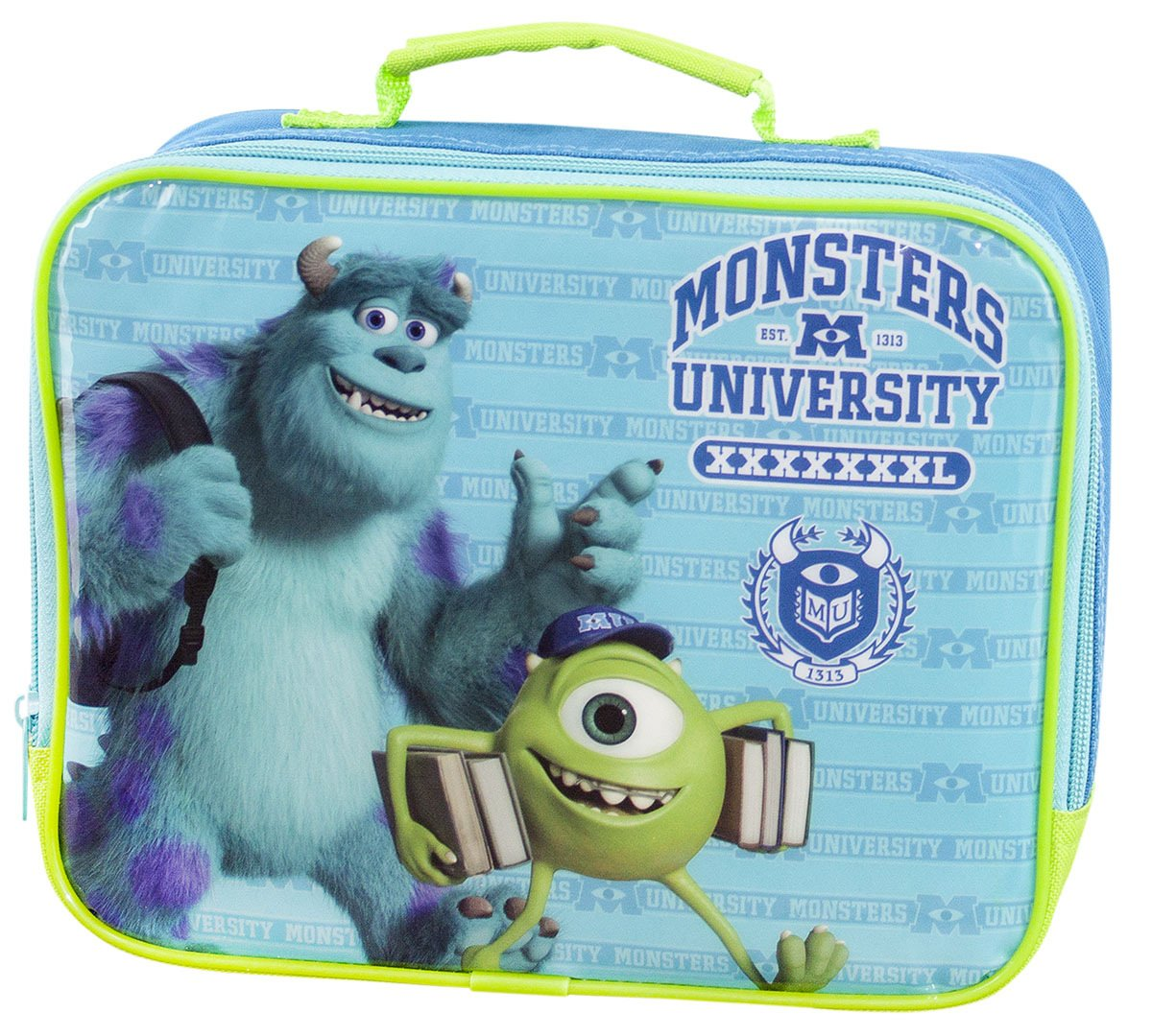 BRAND NEW MONSTERS INC UNIVERSITY MIKE & SCULLY LUNCG BAG-CO106 MINI