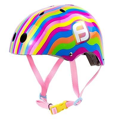 D'ARPEJE OUTDOOR fille C d'Arpèje ofun175de c Funbee Helmet Taille S, Rainbow, S