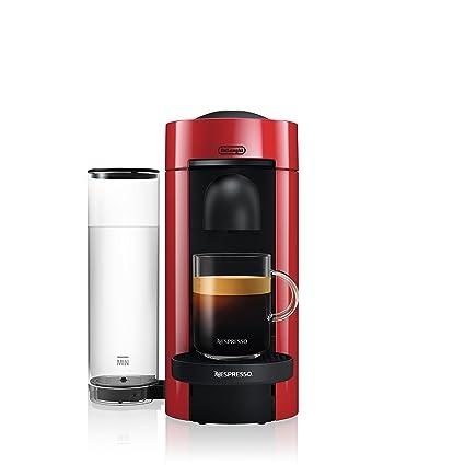 Nespresso Vertuoplus Coffee And Espresso Maker By Delonghi Red