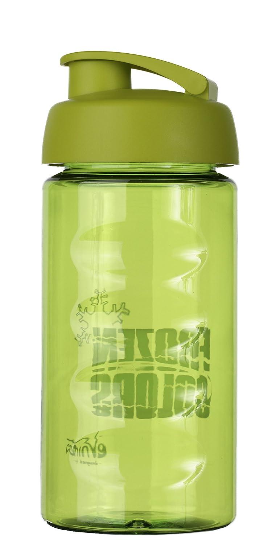 Frozen Colors Botella | 500 ml | plástico sin BPA | antigoteo cierre | Práctico Abrir el Deporte Botella con una sola mano | Ideal Botella de agua para ...