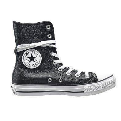 a2589e435a3b Converse Women s Chuck Taylor Hi-Rise XHI Black White 549704c (6.5 B(