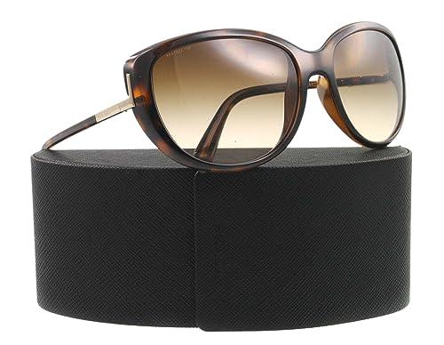 Amazon.com  Prada Sunglasses SPR 07O HAVANA 2AU-6S1 SPR07O  Prada  Shoes 706e434655d2