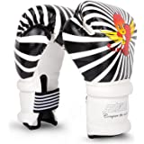 Cheerwing 6oz PU Kids Boxing Gloves Junior Cartoon Punch Bag MMA Sparring Dajn Training
