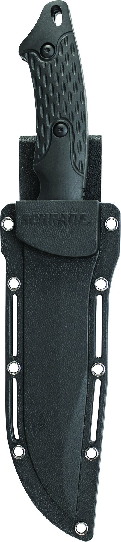 Schrade SCHF30 Full Tang Clip Point Fixed Blade Knife