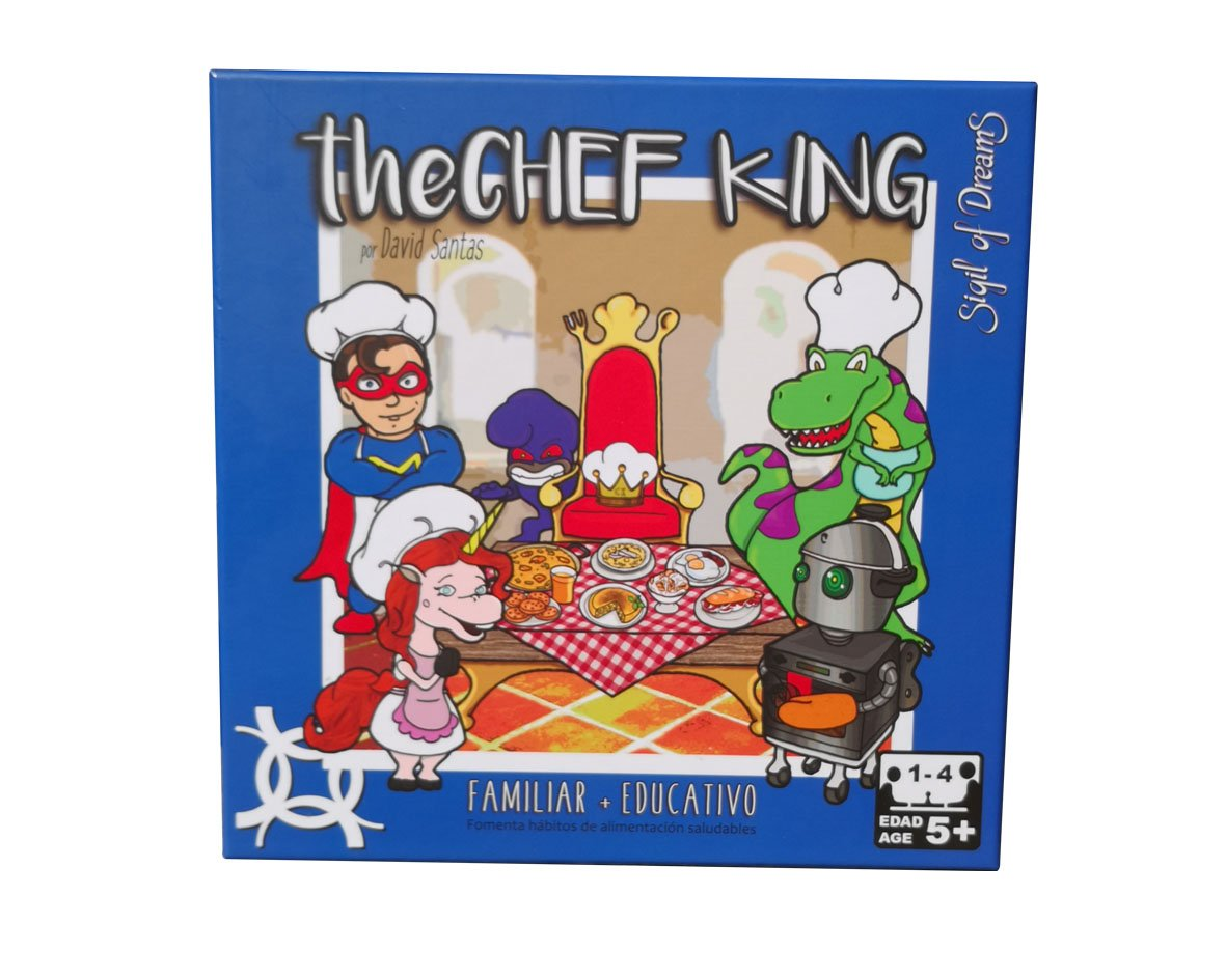 THE CHEF KING | EDUCATIONAL Board Game about COOKING and NUTRITION | Encourages HEALTHY HABITS of FOOD by Sigil Of Dreams (Image #1)