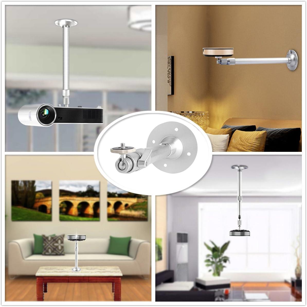 Zice Soporte para proyector Soporte de techo inclinable para ...