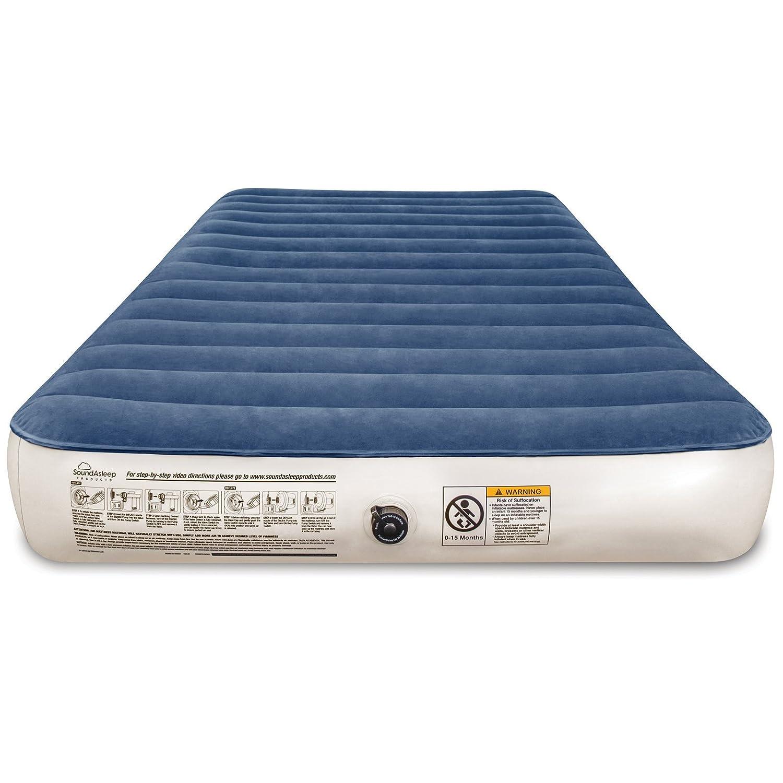 Amazon.com : SoundAsleep Camping Series Air Mattress with Eco ...