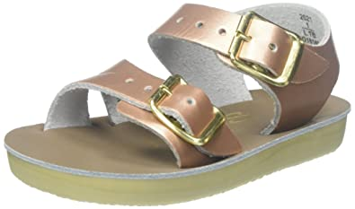 9ee2182e51b Saltwater by Hoy Girls  Sun-San Sea Wee-K Flat Sandal