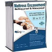 Kingnex Mattress Encasement Zippered Mattress Protector
