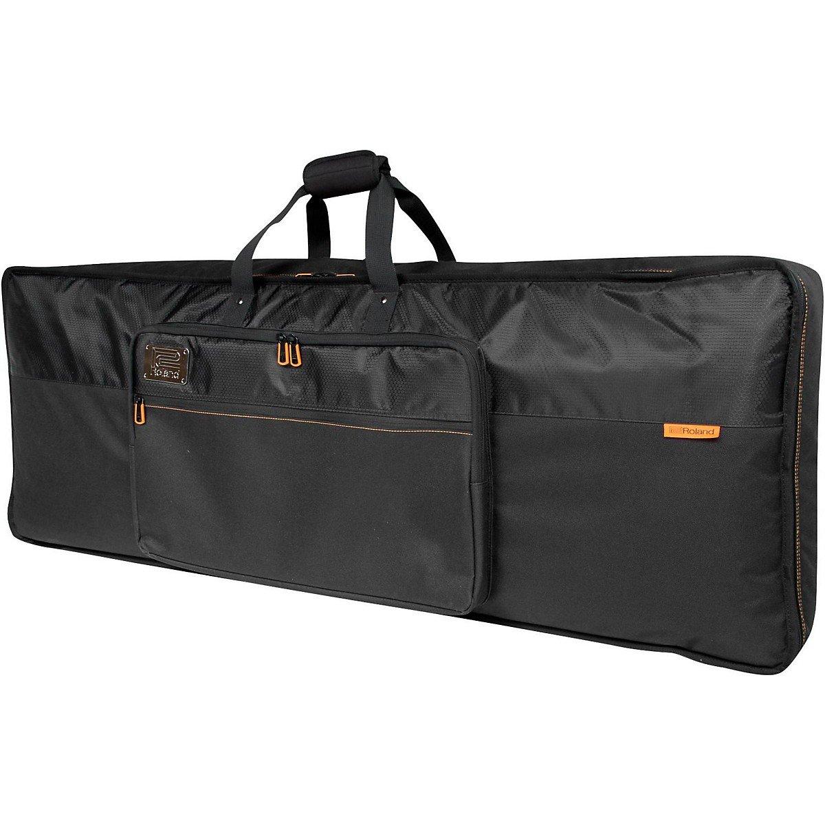 Roland CBB61 Keyboard Bag with Backpack Straps, 61-key, Black Series