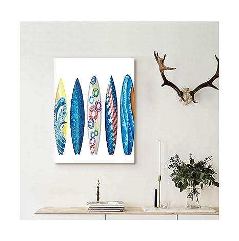 liguo88 personalizado bandera de América lienzo tabla de surf tablas de surf de recogida de decoración