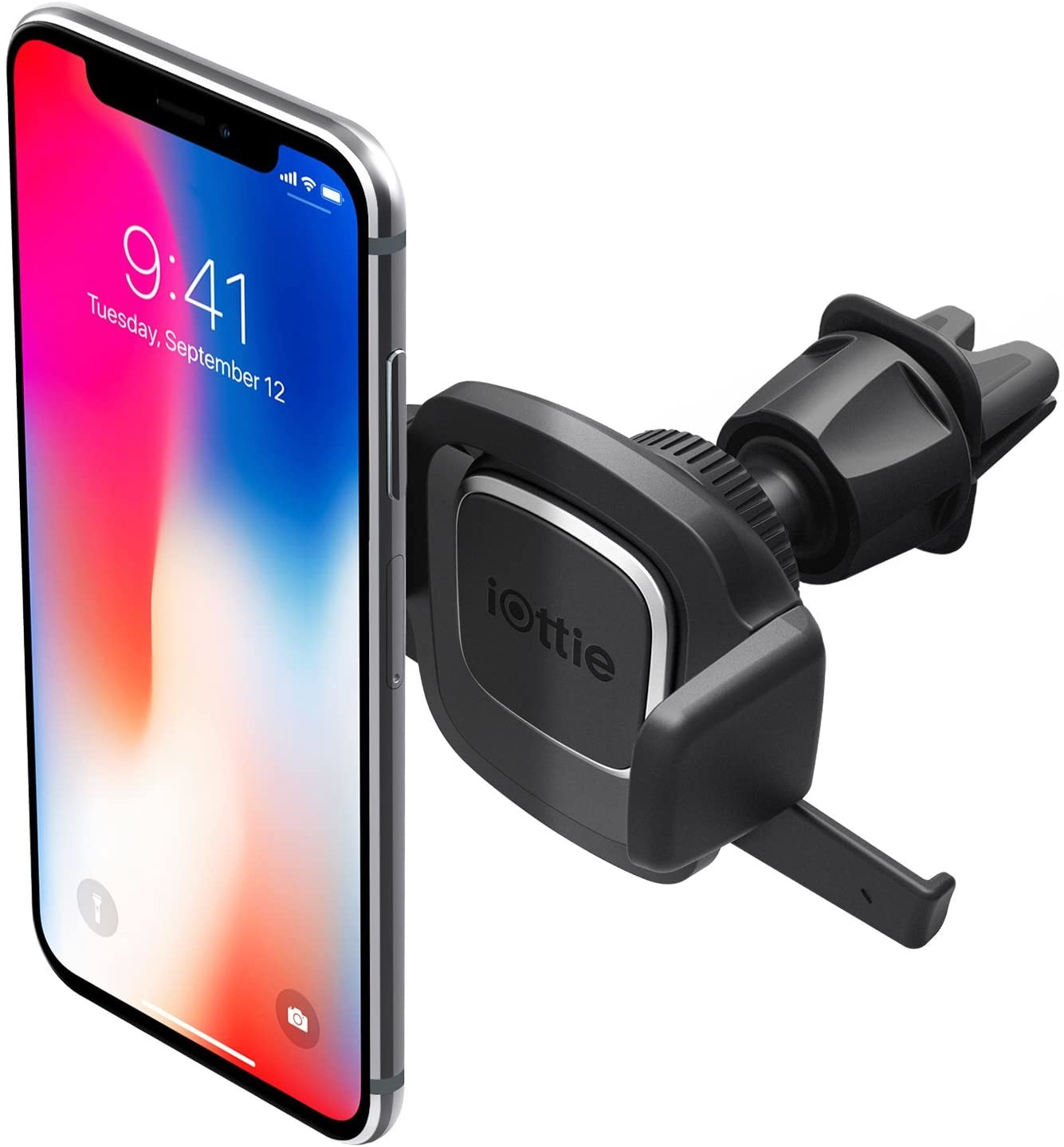 Samsung Galaxy S9 S8 Edge S7 S6 Note 9 /& Other Smartphone iOttie Easy One Touch 4 Dashboard /& Windshield Car Phone Mount Holder for iPhone Xs Max R 8 Plus 7 6s SE Renewed
