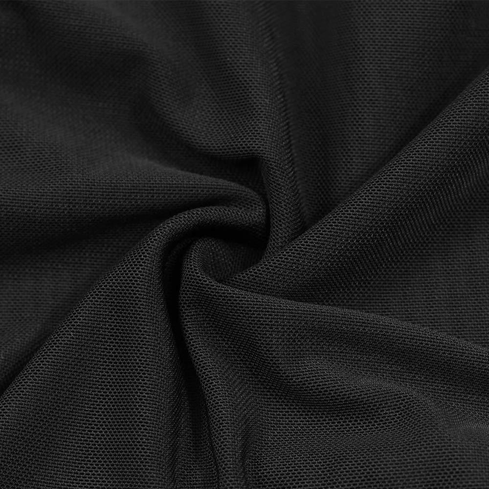 Ropa interior sexy de mujer sexy interior vestido largo de malla a través de bata kimono negro,L ab6b98