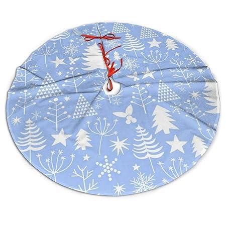 WU4FAAR - Falda para árbol de Navidad, diseño de Navidad, Color ...