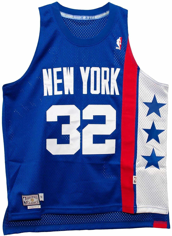 Amazon.com   Julius Erving New York Nets Blue Adidas Soul Jersey   Sports    Outdoors 9d2c9aa4d